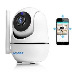 BESDER 1080 P seguridad del hogar cámara IP 720 P inalámbrica WiFi cámara de Audio Registro de vigilancia bebé Monitor HD Mini cámara de CCTV