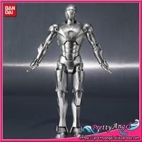 Подлинная Bandai Tamashii Наций S. h. figuarts эксклюзивный Железный человек Mark2 (MK 2) и Hall of Броня набор фигурку