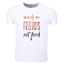 """""""Animals Are Friends Not Food"""" T-shirt"""