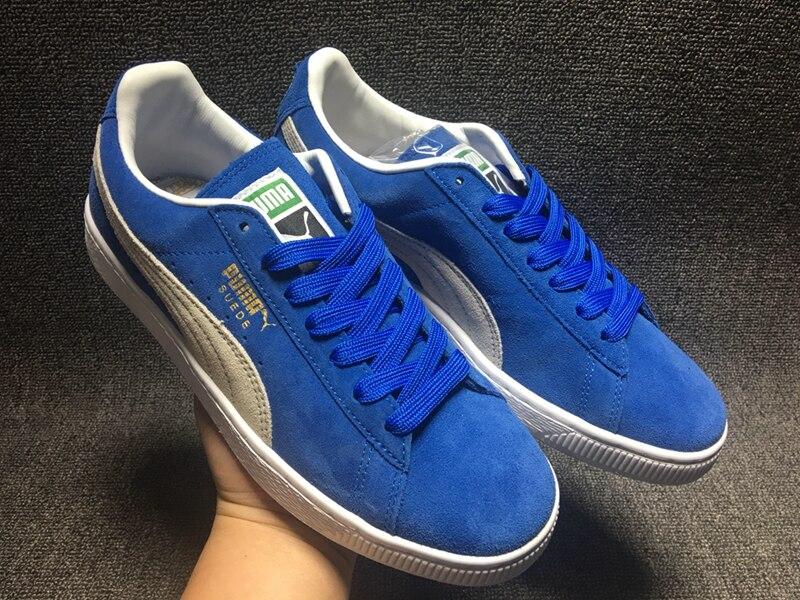 Official Original PUMA Suede Classic Hard-Wearing Mens Badminton Shoes Sports Sneakers Classique Comfortab