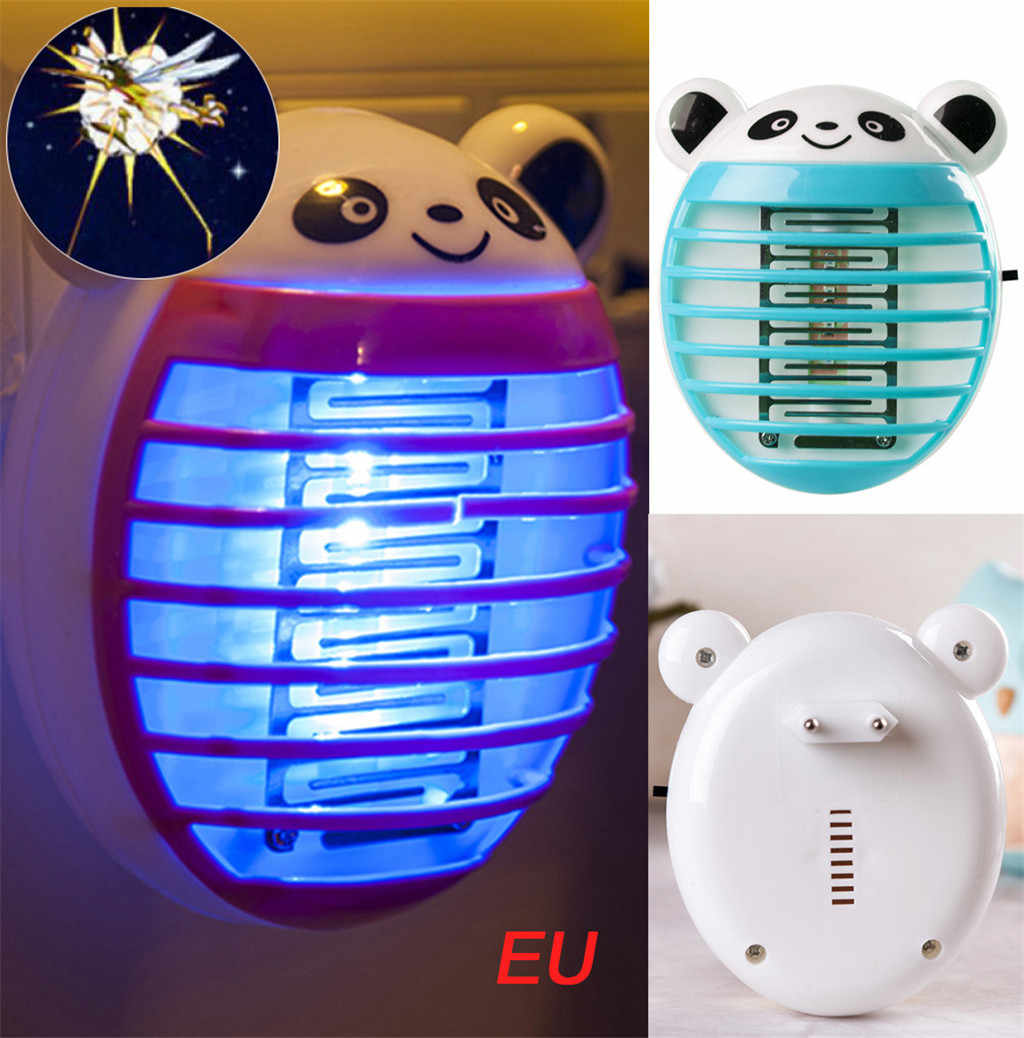 ISHOWTIENDA 2019 LED ซ็อกเก็ตไฟฟ้ายุงแมลงดักแมลงดักแมลง Zapper Killer Night โคมไฟขายร้อน