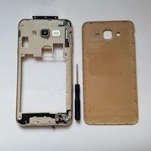 519fbbc48f9 Para Samsung Galaxy J7 Neo J701 J701F J701M Original chasis móvil casos  marco medio con puerta trasera de la batería cubierta