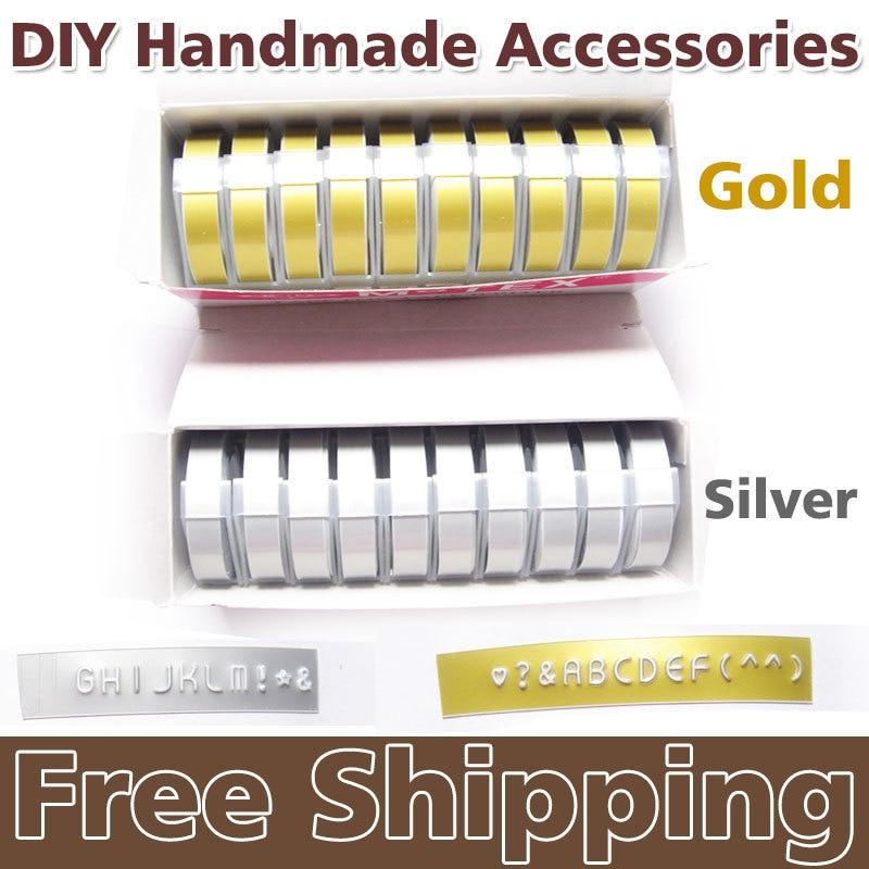 Aliexpress Buy 5PCS PVC hard Tape self adhesive DIY handmade – Free Shipping Label Maker