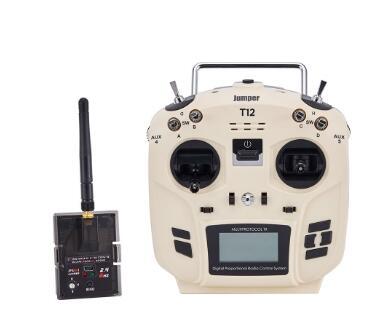 Jumper T12 OpenTX 12ch RF Módulo transmissor de Rádio com JP4-in-1 Multi-protocolo da mão esquerda