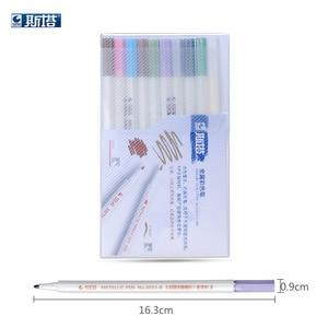 STA 6551 metal color marker Graffiti pen multicolor paint marker pen sharpie chacos Drawing mark pen