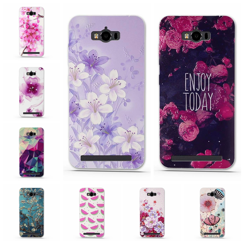 finest selection 5ccf2 e2c88 Case For Asus Zenfone Max ZC550KL Case Soft TPU 3D Cute Cover For Asus  Zenfone Max ZC550KL Cover for Fundas Asus ZC550KL Cover