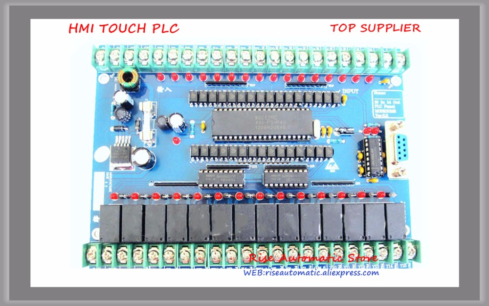 New Original 30MR Single board PLC 16 input point & 14 output point все цены