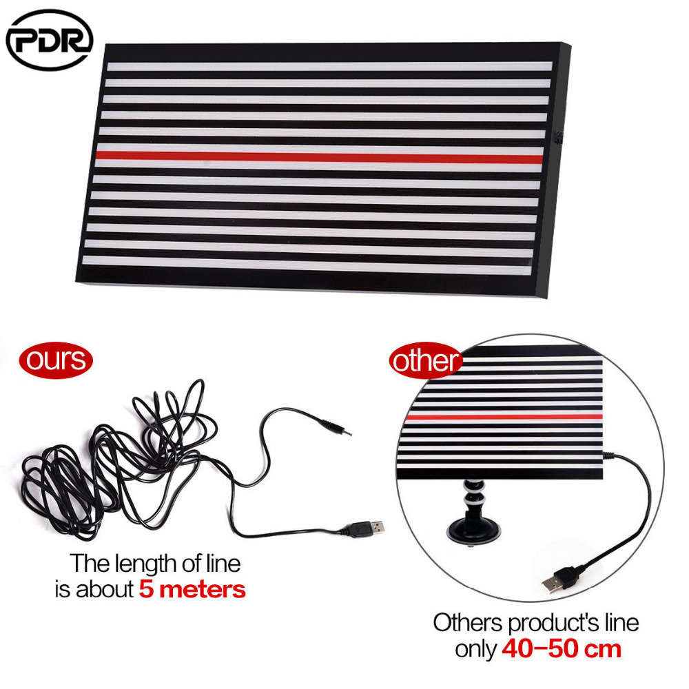 PDR Tools Dent Repair Tools Removal Led font b Lamp b font Reflector Light Line Board