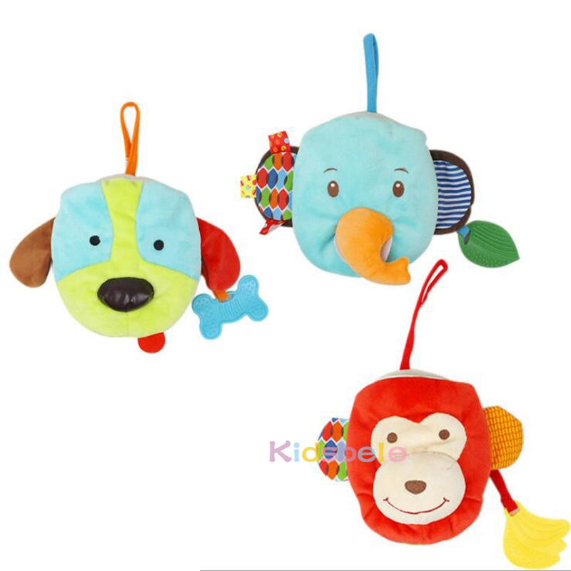 US $2 93 50% OFF|Baby Soft Toys Animals Book Hand Puppet Multi Function  Intelligence Development Learning Toy Newborn Colorful Cloth Books-in Baby