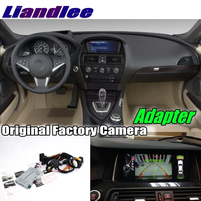 Liandlee Car Reverse Rear Back Up Camera Interface Adapter Decoder Kits For BMW 6 E63 E64 2003~2010 CCC System Upgrade Vehicle Camera     - title=
