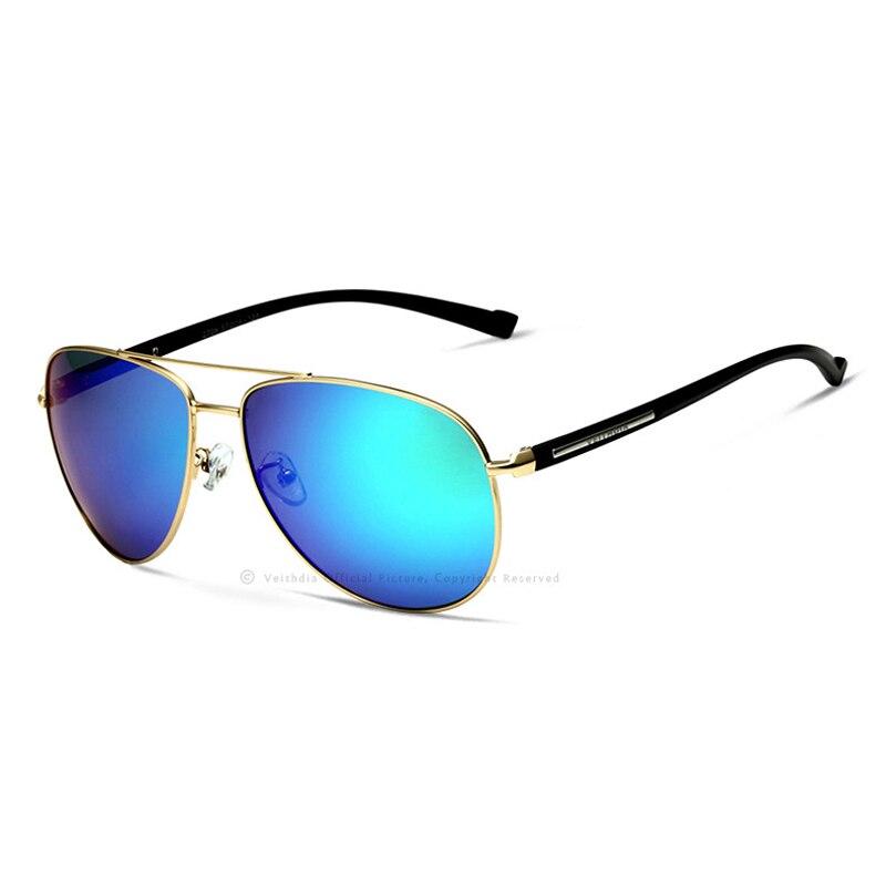 47a2868a2 VEITHDIA Polarizada Lente Dos Óculos De Sol Piloto Homens Do Vintage  Chegada Nova Marca Designer Óculos de Sol gafas oculos de sol masculino 2708