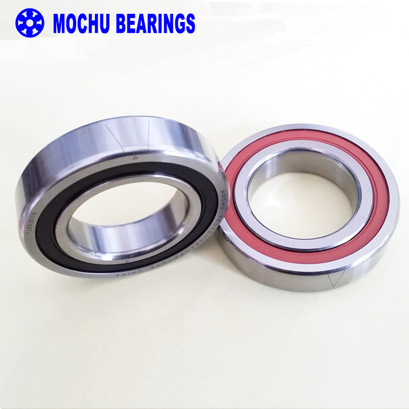 1 Pair MOCHU 7007 7007C 2RZ P4 DT A 35x62x14 35x62x28 Sealed Angular Contact Bearings Speed Spindle Bearings CNC ABEC-7 1 pair mochu 7005 7005c 2rz p4 dt 25x47x12 25x47x24 sealed angular contact bearings speed spindle bearings cnc abec 7