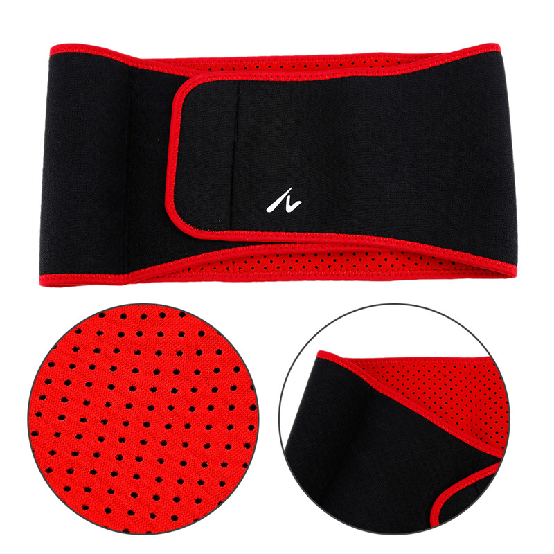 1Pcs Adjustable Men Breathable Waist Support Belt Lumbar Back Support Exercise Belts Brace Slimming Belt Waist Trainer