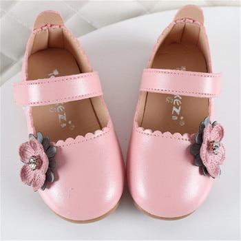 Xinfstreet เด็กทารกอ่อนรองเท้าหนังเด็กทารกน่ารักเด็กวัยหัดเดินเด็กรองเท้าเด็ก Bowknot เจ้าหญิงสำหรั...