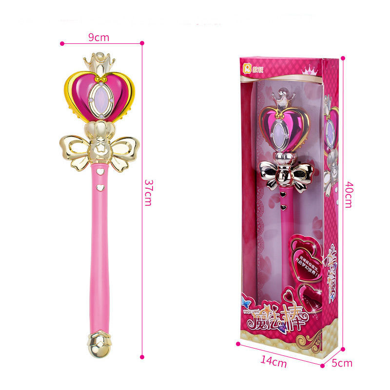Image 5 - Cosplay Props Anime Cosplay Sailor Moon 20th Tsukino Usagi Wand Henshin Rod Glow Stick Spiral Heart Moon Rod Musical Magic Wandcosplay propssailor moon propswand magic -