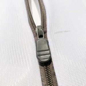 Image 5 - Youpin 3 sztuk zapinana na zamek składana nylonowa torba na pranie biustonosz skarpetki bielizna pralka do odzieży siatka ochronna worki siatkowe