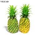 Фигурки из ПВХ VILEAD 5 9 дюйма  имитация ананаса  имитация фруктов  украшение для домашнего фруктового магазина  творческие поделки