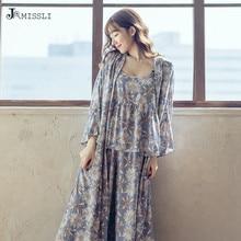 JRMISSLI Vintage Print Women Pajamas Sets 2017 Brand Design