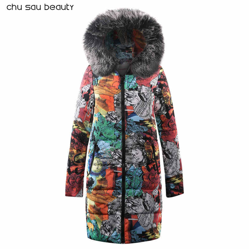 Теплые Меховые Длинные пуховики с капюшоном, женские пуховики, зимнее пальто, куртка с хлопковой подкладкой, женская зимняя куртка, пальто для женщин