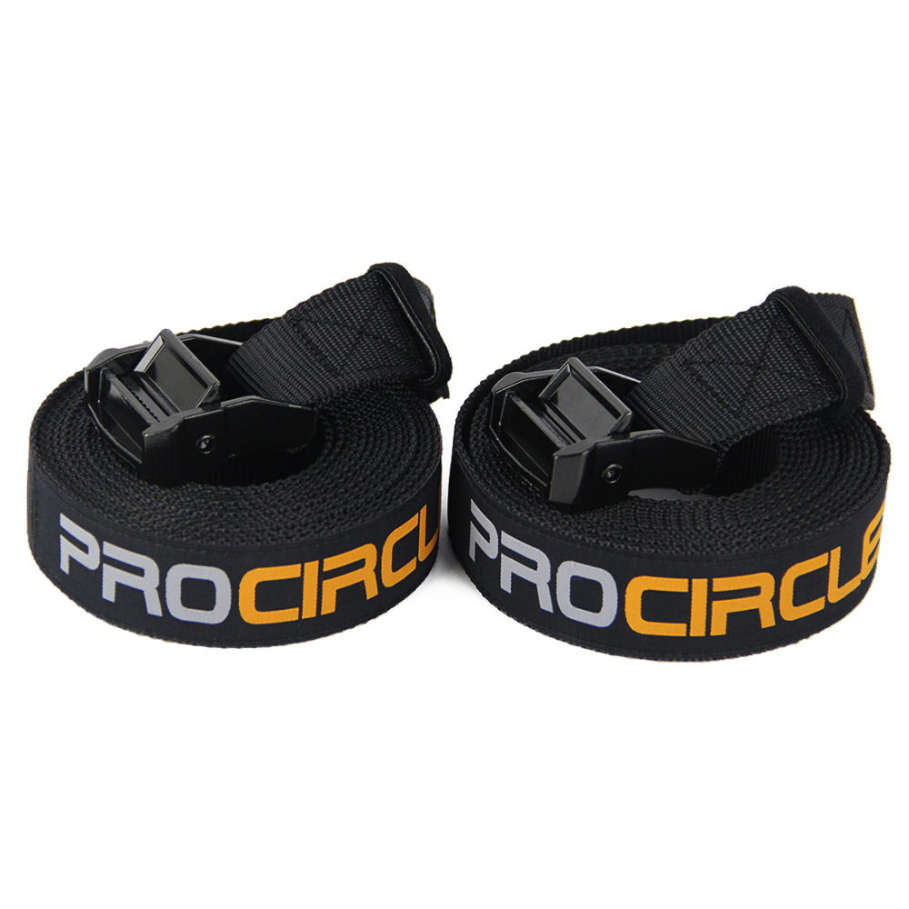 Image 3 - Procircle Wood Gymnastic Rings 28/32 mm Gym Rings with Adjustable Long Buckles Straps Workout For Home Gym & Cross Fitness-in Gymnastics from Sports & Entertainment
