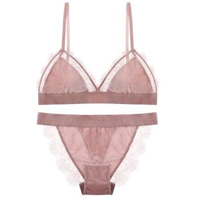 950f858086 Velvet Eyelash Sexy Lace Bralette Bras For Women Underwear Set Small Chest  Seamless Bra Set-in Bra   Brief Sets from Underwear   Sleepwears on ...