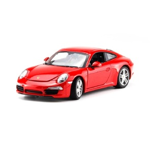 Image 3 - 1:24 סימולציה סגסוגת מכונית ספורט דגם עבור Porscheed 911 עם היגוי גלגל קדמי שליטת גלגל הגה צעצוע לילדים