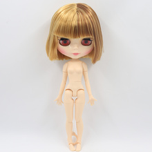 ICY Neo Blythe Doll Brown Blonde Hair Jointed Body 30cm