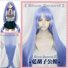 Nejire hadou cosplay peruca boku nenhum herói academia 3rd temporada 110cm longo em linha reta anime cabelo sintético meu herói academia 3 + peruca boné