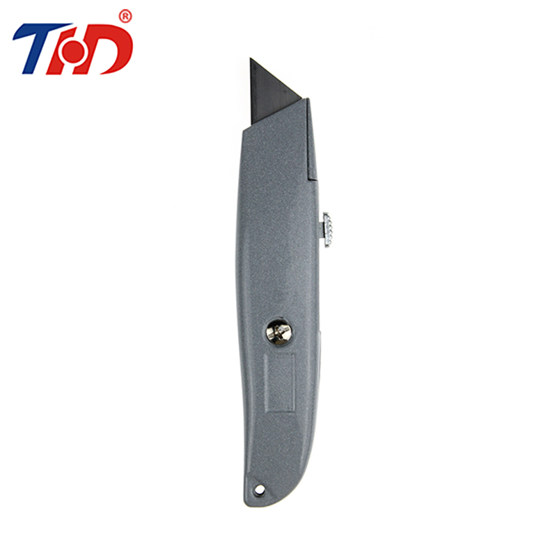 THD 1PC Stanley 10-175 Leather Carpet Household Homeowner's Utility Multi Knife Cutter Knives With Lighter Plastic Cover
