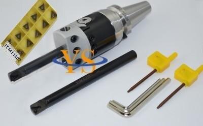 BT40 Boring head F1-18  Boring head 75mm & 2pcs Borng bar 16mm &10pcs inserts