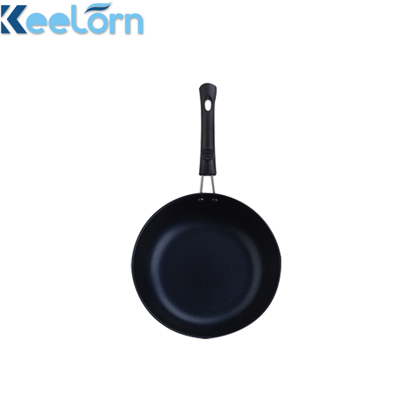 Keelorn <font><b>12CM</b></font> 16CM 18CM 20CM 22CM Aluminum Alloy Non-Stick Mini Frying <font><b>Pan</b></font> Genersl Use For Gas And Induction Cooking Egg Cut Pot image