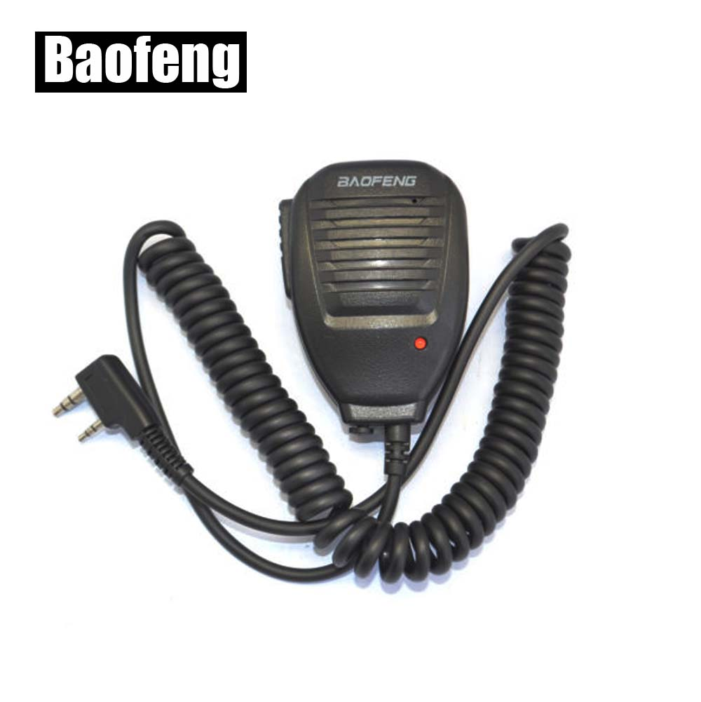BAOFENG Microphone Haut-Parleur pour Ham Two Way Radio/Talkie-walkie UV5R GT3 888 s