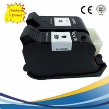 2 x Ink Cartridges For HP 45XL 23XL HP45XL HP23XL Designjet 1125c 710 710c 712 712c 720 720c 722c 815c 880c 890c 890cse 895cse