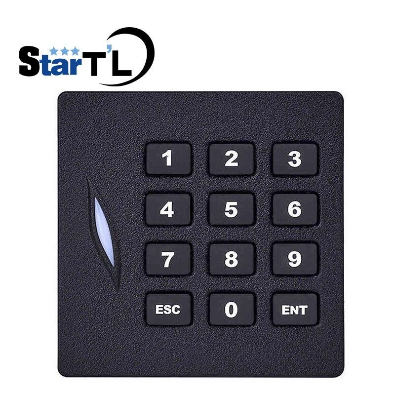 Zoter/® circolare metallo controllo di accesso EM ID 125/kHz password 26/Wiegand 34/RFID tastiera lettore di schede supporta fino a 8000/utenti sistema di sicurezza per la casa ufficio