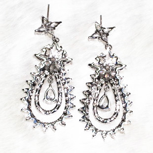 la dea orecchini orecchino per la bella womoan artigianato puro competenze lampeggiante di charme aaa zircone , 138 pietra a grana ALW1868 - 2