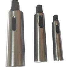 Adaptateur Morse conique MT2, 1 pièce, pour MT1, réduction de la douille de perceuse