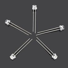 1000PCS/lot Free Shipping Pink RED BLUE GREEN YELLOW WHITE transparent  straw hat Clear Lens 5MM led diode  0.07W  3.2-3.4V
