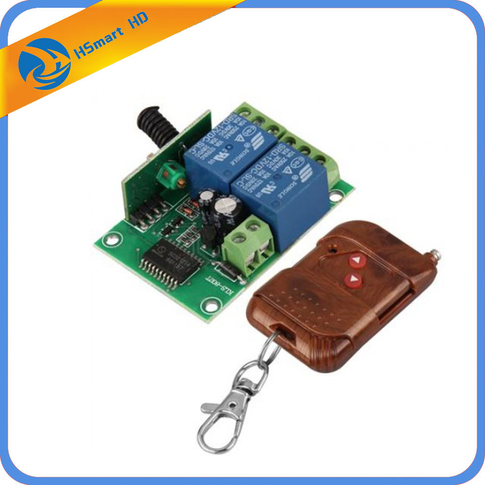 Access Control System 315MHz <font><b>Universal</b></font> Gate <font><b>Garage</b></font> <font><b>Door</b></font> <font><b>Opener</b></font> <font><b>Remote</b></font> Control + Transmitter DC 12V <font><b>Door</b></font> <font><b>Remote</b></font> Control image