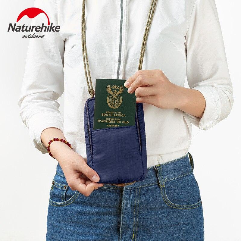 Bolsa à Prova Água para Cartões de Passaporte Função ao ar Bolsa para Kits Naturehike Carteira Dwaterproof Dinheiro Multi Livre Viagem Nh17x010-b