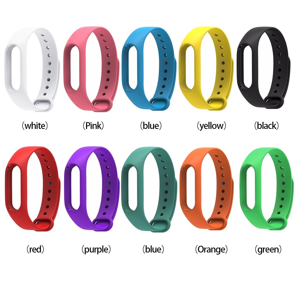 Strap-Band Bracelet Wrist-Strap Heart-Rate Colorful for Mi Pulseira Smart Varied-Colors title=