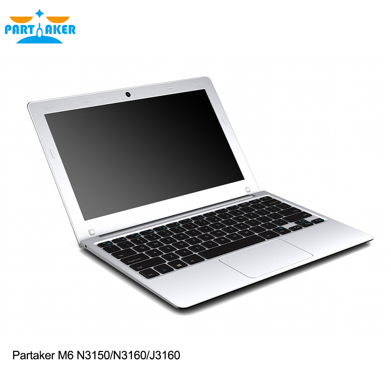 Partaker M6 Newest Style Laptop Computer With 11 6 Inch N3150 N3160 J3160 4G RAM 64G