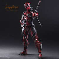 Joyyifor 26cm Marvel Avengers Super Heroes Weapon X Deadpool Toys PVC Action Figure Collection Model Toy for Kids Birthday Gift