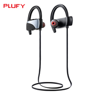 Plufy Headset Sports Bluetooth Headset Wireless Earphone 4 1 Wireless Bluetooth Headset Jogging Binaural Headset Hanging