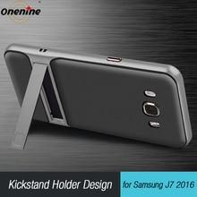"3D Kickstand Mobiele Case voor Samsung Galaxy J7 2016 Siliconen Cover 5.5 ""TPU PC Hybrid Telefoon Terug Armor Tas samsungJ7 J710 J7 LTE"