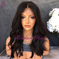 Brazilian Syntetic lace front wig 180% Density Loose Wavy Synthetic Full Lace Front Wig Heat Resistant Synthetic Lace Front Wigs