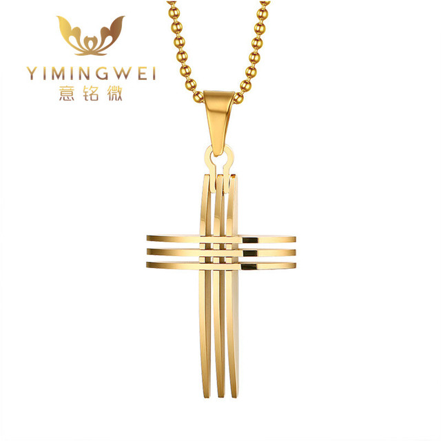 Ymwnew mens necklaces pendants stainless steel cross hollow ymwnew mens necklaces pendants stainless steel cross hollow horizontal net shape pendant necklace aloadofball Images