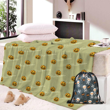 Dropship Skull Dog Nap Blanket Super Soft Animal Dinosaur Velvet Plush Throw Art for Children Beach Towel