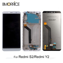 100% Original LCD Display For Xiaomi Redmi S2 Screen Touch Digitizer LCD Display for Redmi Y2 TouchScreen With/No Frame все цены