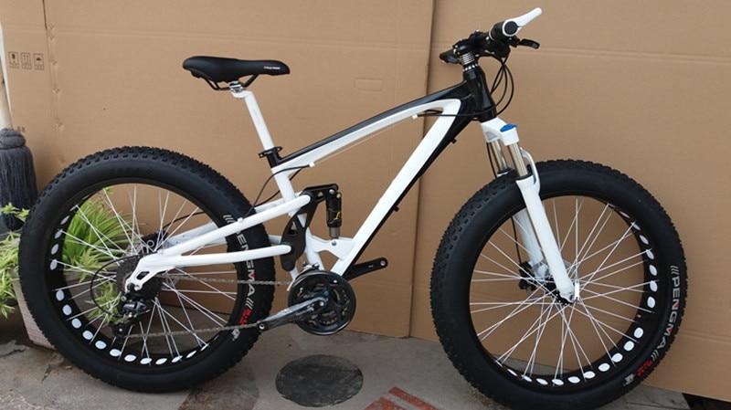 21 24 27 30speed Snow Bike Full Shockingproof Frame Fat