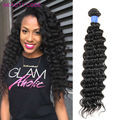 Malaysian Virgin Hair 3 Bundle With Closure Deals Deep Wave Human Hair With Closure 100% 8a Cheap Beauty Unprocessed Human Hair